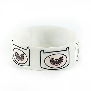 Adventure Time Wristband - Finn Faces (3 Pack)