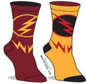 Flash Socks - Flash/Reverse Flash Reversible Unisex