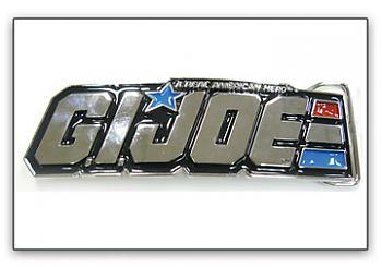 G.I. Joe Belt Buckle - Logo