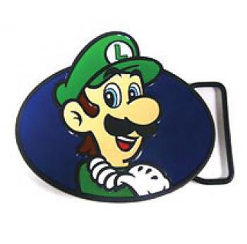 Nintendo Belt Buckle - Luigi Enamel Filled