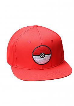 Pokemon Cap - Pokeball Red Snapback (Team Valor)