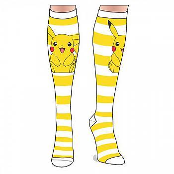 Pokemon Knee Socks - Pikachu Stripes