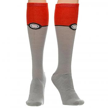 Pokemon Knee Socks - Pokeball
