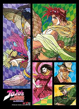 Jojo's Bizarre Adventure Fabric Poster - Characters