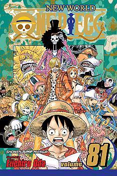 One Piece Manga Vol.  81