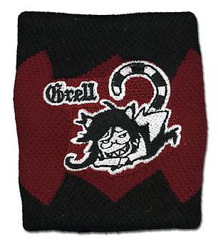 Black Butler 2 Sweatband - Grell Cat