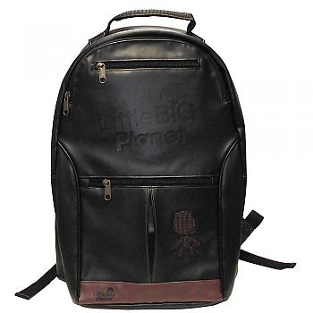 Little Big Planet Backpack - Black Logo and Sack Boy