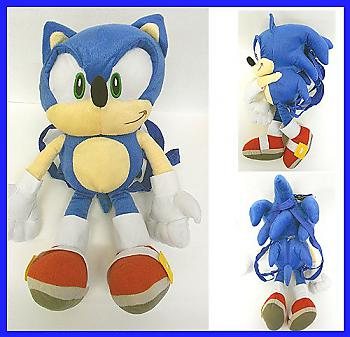 Sonic The Hedgehog 19'' Backpack - Sonic Green Eyes