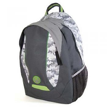 XBox Backpack - Gray Camo Nylon