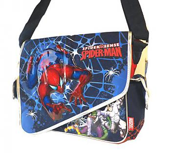 SpiderMan Messenger Bag - Spider Sense