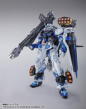 Gundam Seed Astrays Action Figure - Astray Blue Frame Metal Build (Full Weapon Set)