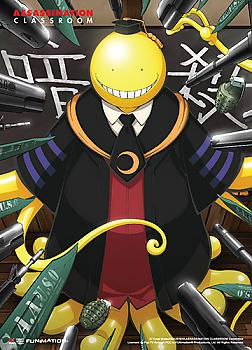 Assassination Classroom Fabric Poster - Key Art 2