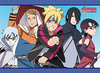Boruto Wall Scroll - Group 3