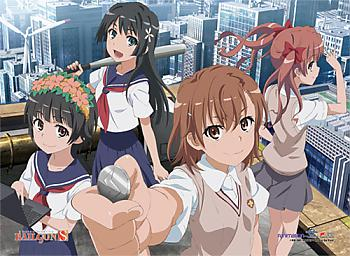Certain Scientific Railgun S Fabric Poster - Group 2