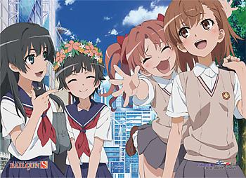 Certain Scientific Railgun S Fabric Poster - Group 3