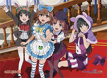 Certain Scientific Railgun S Fabric Poster - Group 4