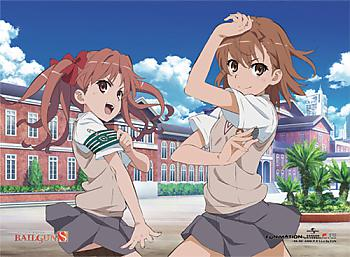 Certain Scientific Railgun S Fabric Poster - Group 5