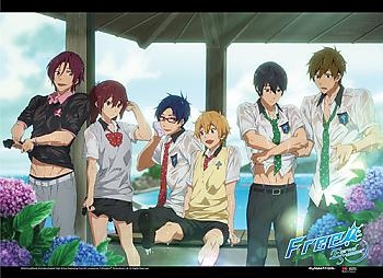 Free! 2 Wall Scroll - Wet Clothes