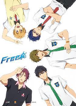 Free! Wall Scroll - Rin, Haruka, Makoto, Rei & Nagisa
