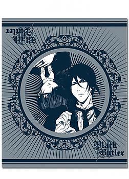 Black Butler 2 Throw Blanket - Sebastian & Ciel
