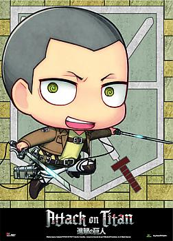 Attack on Titan Wall Scroll - SD Conny