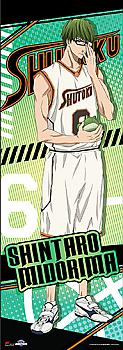 Kuroko's Basketball Wall Scroll - Midorima [TALL]