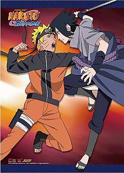 Naruto Wall Scroll - Naruto VS Sasuke