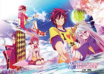 No Game No Life Fabric Poster - Chess