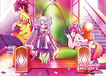 No Game No Life Fabric Poster - The Throne