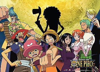 One Piece Wall Scroll - Moonlight