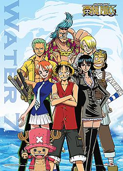 One Piece Wall Scroll - Water 7