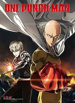 One-Punch Man High End Wall Scroll - Key Art 1