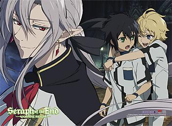 Seraph of the End Fabric Poster - Group 6