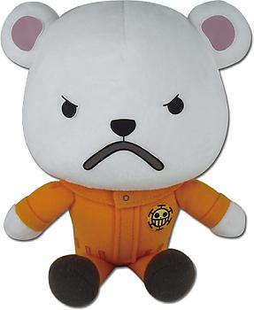 One Piece 8'' Plush - Bepo Sitting