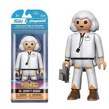 Back to the Future Playmobil Figure - Doc