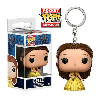 Beauty and the Beast Movie Pocket POP! Key Chain - Belle Gown Rose (Disney)