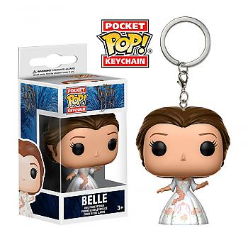 Beauty and the Beast Movie Pocket POP! Key Chain - Belle Celebration (Disney)