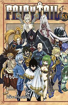 Fairy Tail Manga Vol.  58