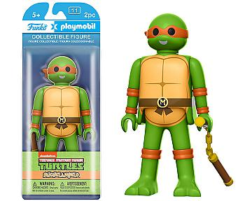 Teenage Mutant Ninja Turtles Playmobil Figure - Michelangelo
