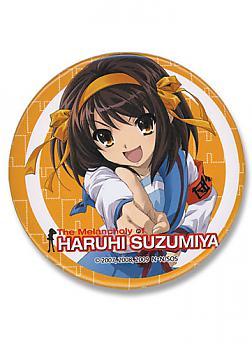 Haruhi-Chan 3'' Button - Haruhi