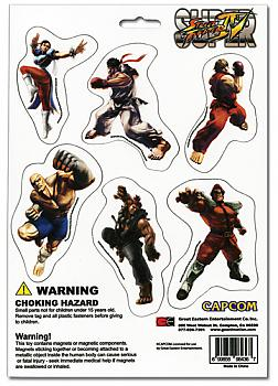 Street Fighter IV Magnet - Cutout Characters