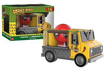 Deadpool Dorbz Ridez Vinyl Figure - Deadpool & Chimichanga Truck