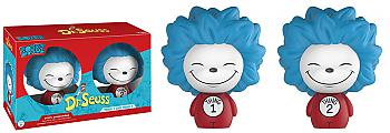 Dr. Seuss Dorbz Vinyl Figure - Thign 1 & Thing 2 (Set of 2)