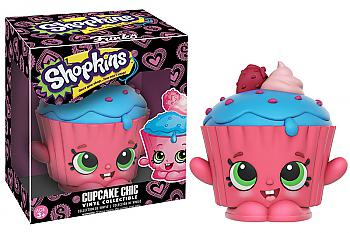 Shopkins Vinyl Figure - Cupcake Chic