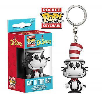 Dr. Seuss Pocket POP! Key Chain - Cat in the Hat