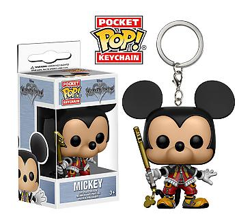 Kingdom Hearts Pocket POP! Key Chain - Mickey Valor Form
