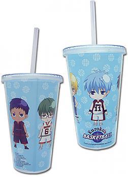 Kuroko's Basketball Tumbler Mug with Lid - SD Line Up