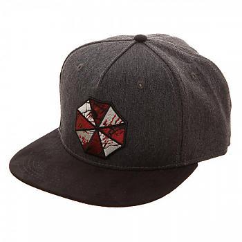 Resident Evil Cap - Umbrella Corp Bloody Logo Flatbill