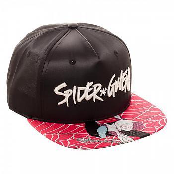 Spiderman Cap - Spider Gwen Satin Snapback