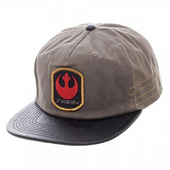 Star Wars Rogue One Cap - Distressed Rebel Slouch Snapback